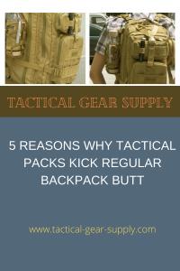 5 Reasons Why Tactical Packs Kick Regular Backpack Butt