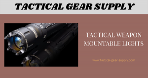 Tactical Weapon Mountable Lights