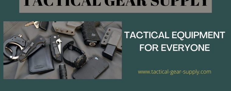 Tactical Equipment For Everyone